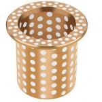 Bucha de teflon com bronze